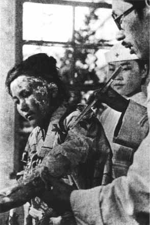 Hiroshima and Nagasaki...