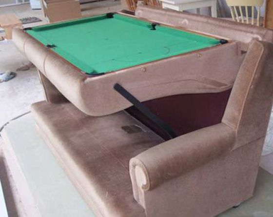 Unusual and creative billiard tables damn cool pictures for Cool html tables