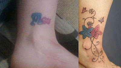 Cover Tattoos on Cover Up Tattoos   Damn Cool Pictures