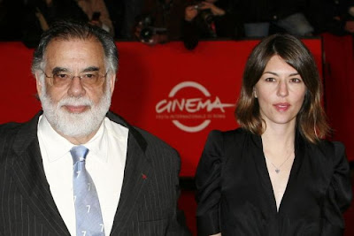 Francis  Ford Coppola and daughter Sofia Coppola