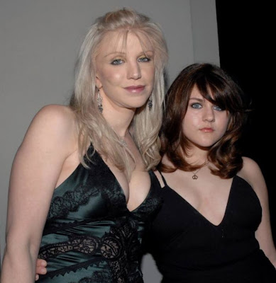Courtney  Love and Daughter Frances Bean