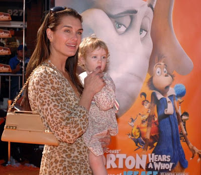 Brooke  Shields and daughter Grier