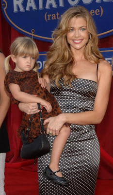 Denise  Richards and daughter Sam