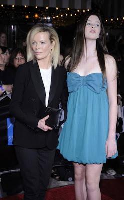 Kim  Basinger and daughter Ireland