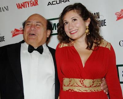 Danny  DeVito and his daughter Lucy