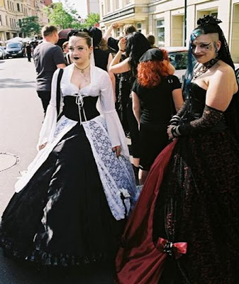 pictures of tattoos for women_18. Gothic Women Festival