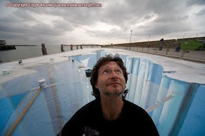 lukisan lukisan 3D yang keren! 3d-street-art-ice-age-09