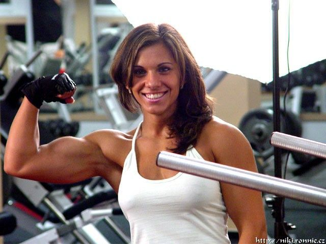 Muscle chicks orgy images 11