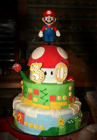 50 Awesome Super Mario Cakes Damn Cool Pictures