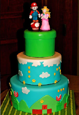 50 Diferentes Pasteles de Mario Bross