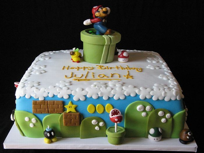 super_mario_cakes_04 unique birthday cakes adults 10 on unique birthday cakes adults