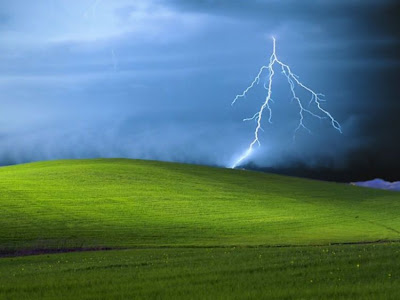 cool xp wallpapers. Damn Cool Pics: Origin of Windows XP Default Wallpaper