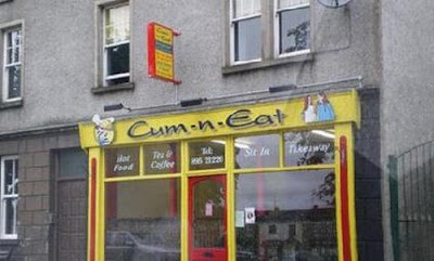 weird and humorous restaurant names