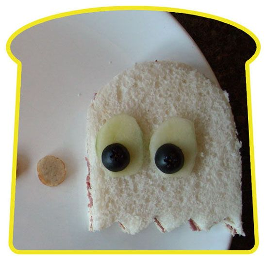 24 incríveis artes em sanduíches