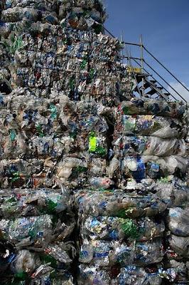 garbage plastic building