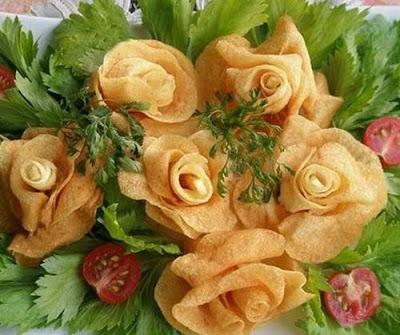 kentang bunga
