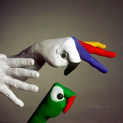 الرسم على اليد روووووعه لايفووووتكم
