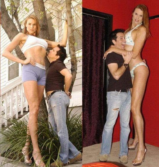 The World's Tallest Model
