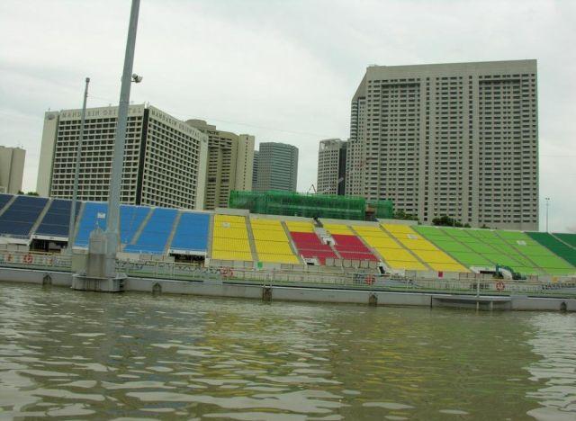 the floating stadium of singapore @ strange world