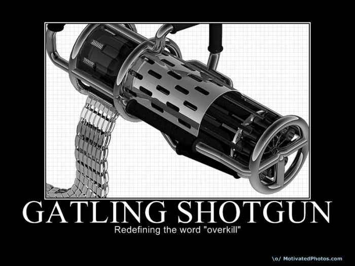 Thread some gun related demotivational posters
