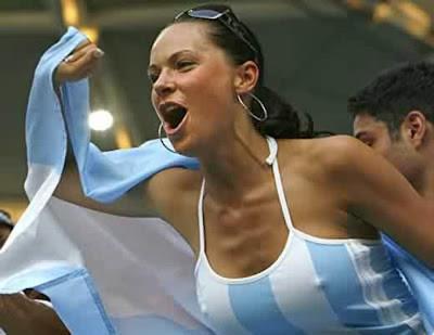 Argentinien Fan