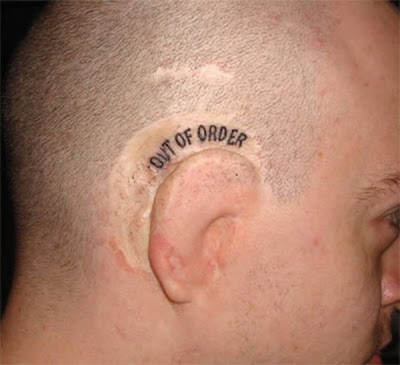 The Craziest Ear Tattoos - Tatoos