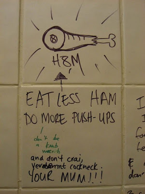 Bathroom Graffiti 20 types of bathroom graffiti you'll only see in britain