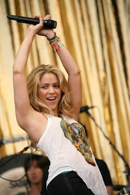 Shakira Top 50 Most Desirable Arab Women of 2010