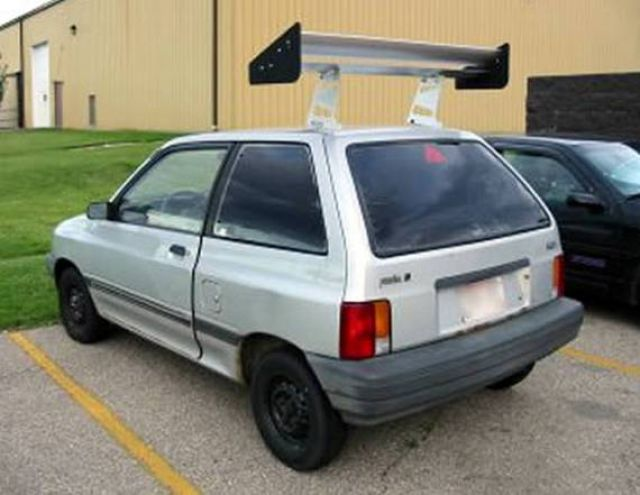 DooB Picture: 15 Most Ridiculous Car Spoilers
