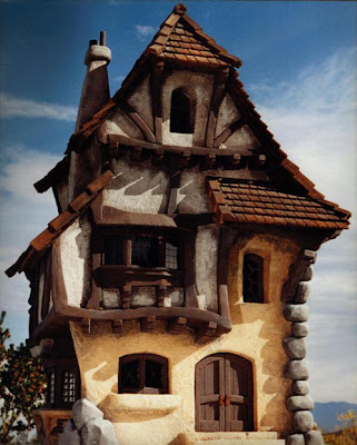 Amazing Fairy Tale Houses in Real World