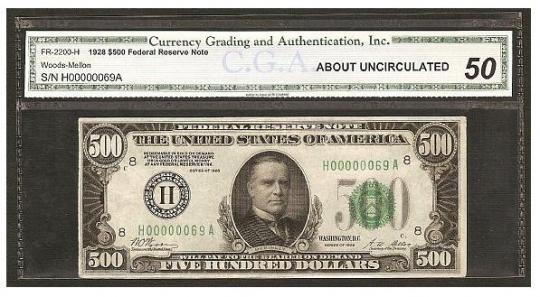 The Biggest Dollar Bills in History: $500 to $100000 ~ Damn Cool ... One Dollar Bill Tricks