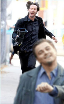 Meme Happy Keanu Reeves