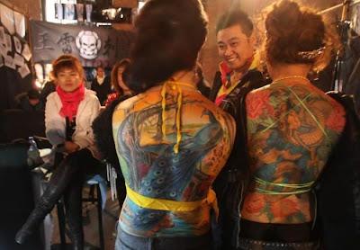 المهرجان الدولي للوشم في بكين 2010