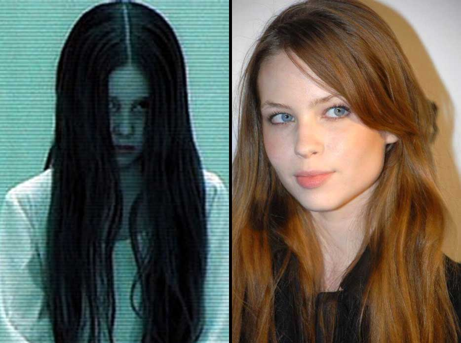 The Creepy Girl From The Ring Then and Now