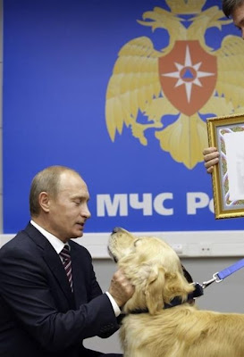 Cute Photo of Vladimir Putin with Animal Seen On  www.coolpicturegallery.us