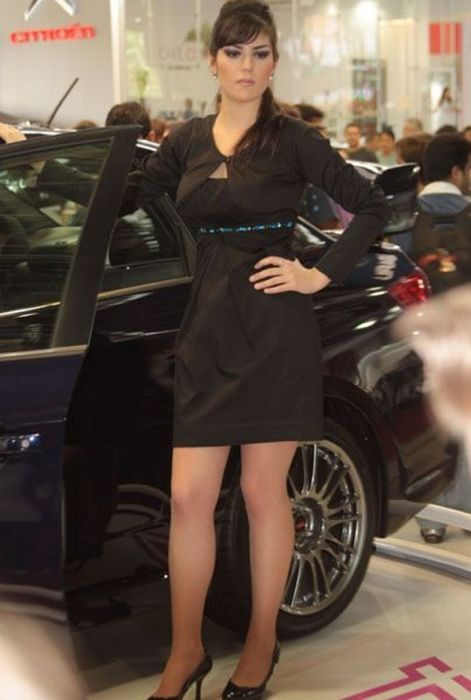 Brazilian Car Show Models hot images