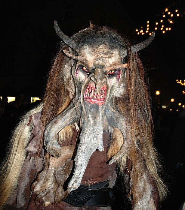 Great Job Aaron Krampus The Evil Companion Of Santa