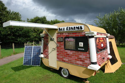 Smallest Solar Powered Movie Theater