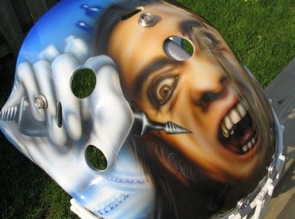 Hockey s Most Badass Goalie Masks ~Cool Pictures