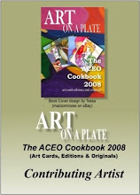 Art on a Plate ACEO Cookbook