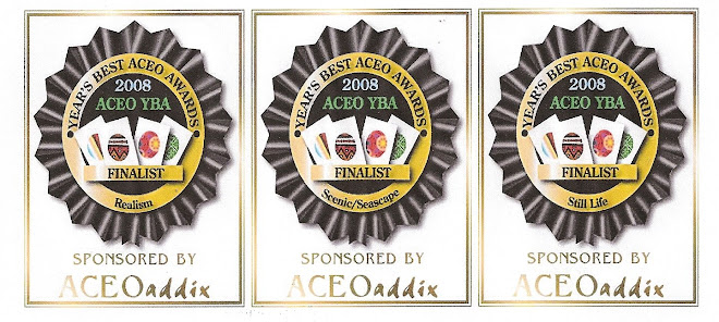 Year's Best ACEO Awards 2008 - Finalist in these 3 categories