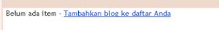 membuat blogroll