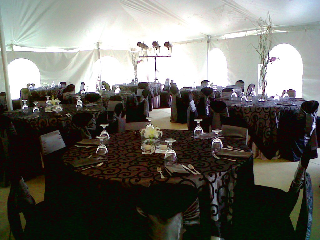 I Do Events - Chair Covers, Tablecloths, Wedding Table Linens, and