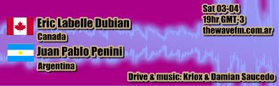 :: Eric Labelle Dubian (Canada) & Juan Pablo Penini (Arg) @ The Wave FM :: Dubianwave