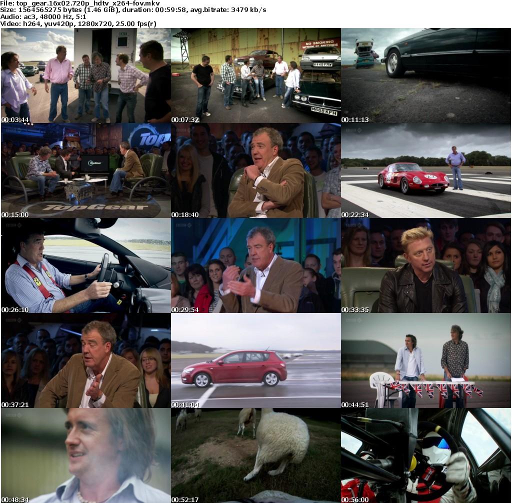 Top Gear 16 Season 02 Episode HD 1080,720 2011