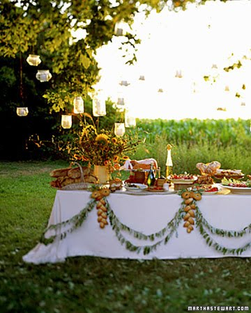 Outdoor Wedding Decorations Tips Plan