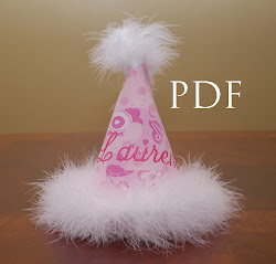 Pretty Party Hat Pattern