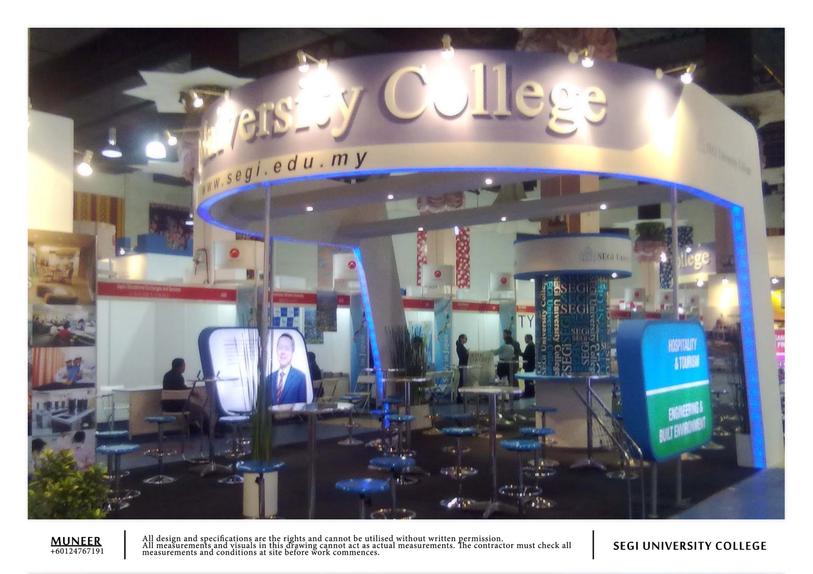Education Exhibition Booth Design : Freelance exhibition design facon education fair