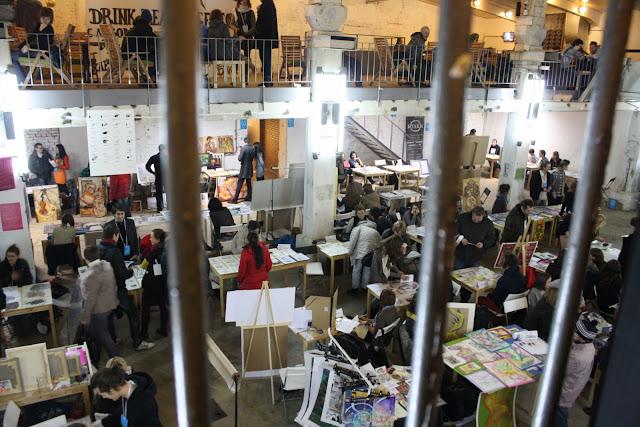 Student art fair