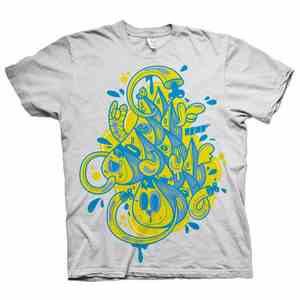 T-Shirts Bubble Letters 1